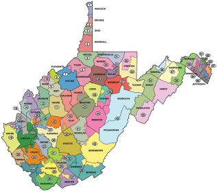 House of Delegate districts